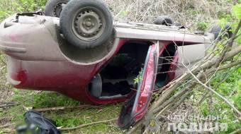 На Полтавщині загинув водій легковика, що перекинувся у Шишацькій громаді