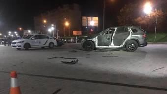 У Івано-Франківську із РПГ обстріляли автомобіль