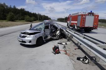 У аварії неподалік Кобеляк загинули два журналісти