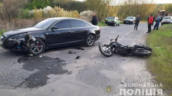 У Лубенському районі у ДТП постраждали двоє дітей