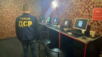 У Лубнах поліція викрила незаконний зал гральних автоматів