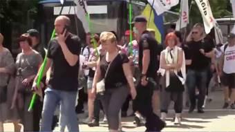 У Києві побилися ФОПи із поліцією