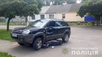 У Лубнах в ДТП травмувався мотоцикліст