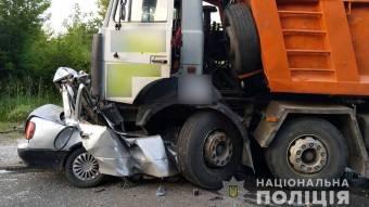 У Лубенському районі в ДТП загинули чотири особи