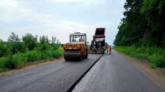 Повне оновлення дороги Чорнухи – Лубни завершать вже цього року