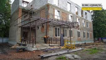У Решетилівці триває реконструкція фізкультурно-оздоровчого реабілітаційного комплексу «Колос»