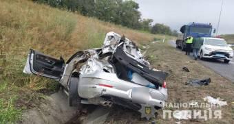 На Миргородщині сталося ДТП, в якій травмовано п'ятеро людей