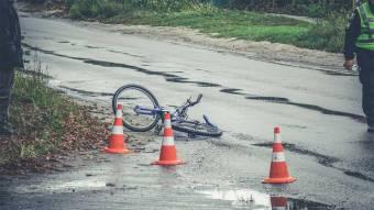 Маленький велосипедист ледве не потрапив під колеса «Таврії»
