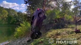 У Пслі потонув автомобіль з трьома людьми всередині