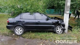 У Лубнах чоловік загинув, врізавшись на автомобілі в електропору