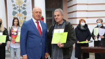 Чорбівський поет отримав премію Короленка
