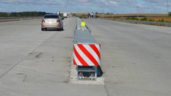 На автошляхах Полтавщини встановлюють демпферні системи