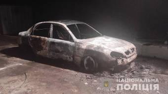 У Миргороді в автомобілі згорів чоловік