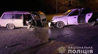 У Полтаві «лоб в лоб» зіткнулися два автомобілі