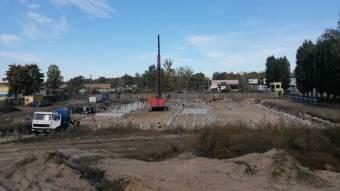У Миргороді розпочали будівництво басейну