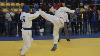 СБУ в Полтавській області провела всеукраїнські змагання з рукопашного бою