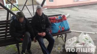 На Миргородщині затримали злодіїв, які за годину обікрали два магазини