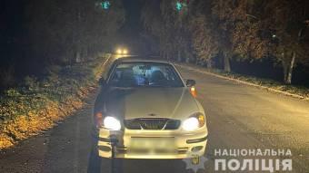 У Гребінці під колеса автомобіля потрапив неповнолітній хлопчик