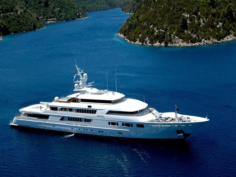 частные фото на яхте