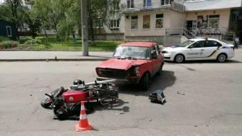 У Миргороді в ДТП постраждав мотоцикліст – поліція вивчає обставини події
