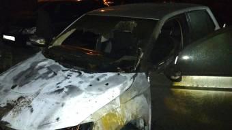 У Кременчуці рятувальники ліквідували пожежу в автомобілі