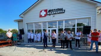 У Піщанській ОТГ здали в експлуатацію нову амбулаторію