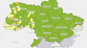 Україну розділили на зони