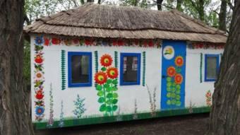 Житель Петриківки побудував хату і їздить на ній по селі