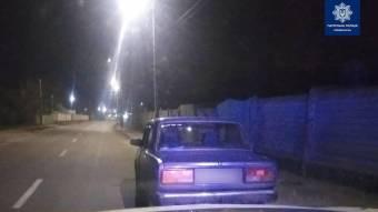 За ніч кременчуцькі патрульні зупинили двох водіїв з ознаками наркотичного сп'яніння