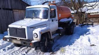 У Лохвицькій ОТГ власник вантажівки затримав викрадача свого автомобіля