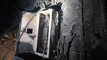 Рятувальники ліквідували пожежу в електрощитовій